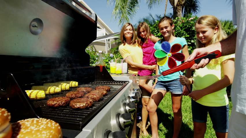 барбекю със съседи